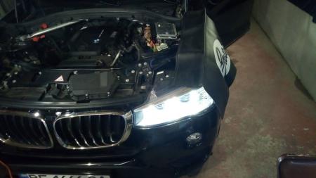 BMW X3 F25 2,0 D Чип-тюнинг, EGR, сажевый фильтр